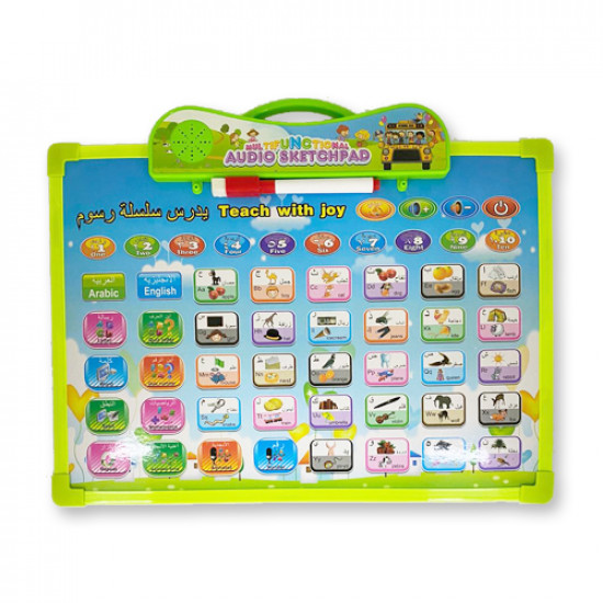 Sound Learning board 35 x 25 cm two sides