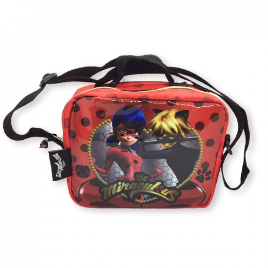 Lady Bugs Lunch Box Red