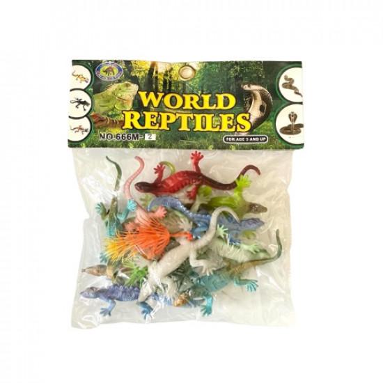 Anthropomorphic Educational Animals Reptile