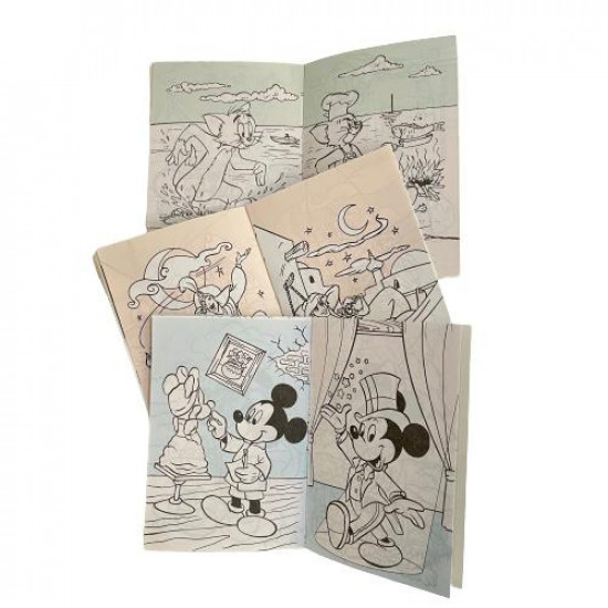 Cartoon Characters Coloring Book Set for Kids 36 Notebooks