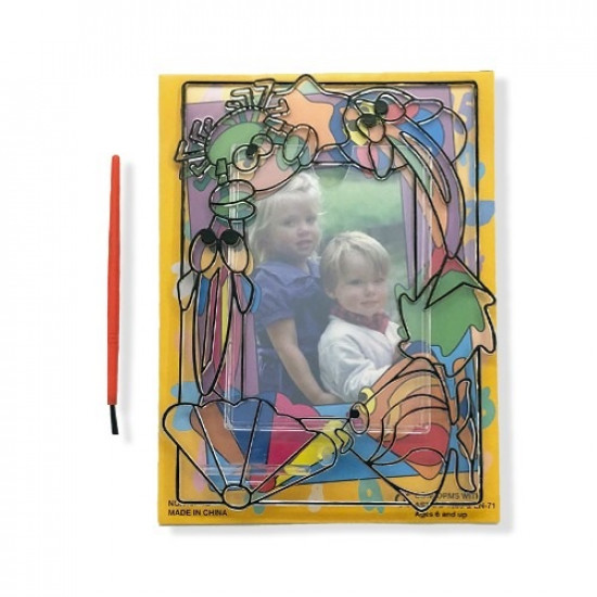 picture frame plastic transparent for coloring Big with brush