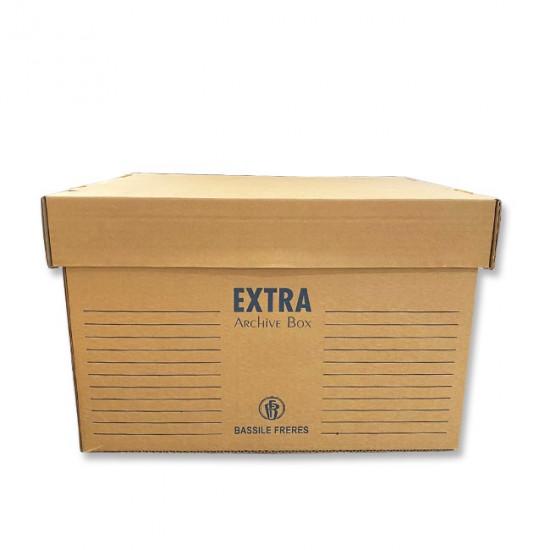 Archive Box Basil Brown 45 x 35 x 30 cm