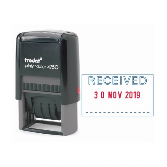 Ready Stamp (PAID) With The Date AD TRODAT