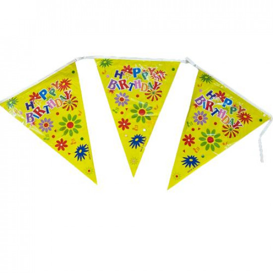 Party Decorations Triangles Rope Multiple Colors