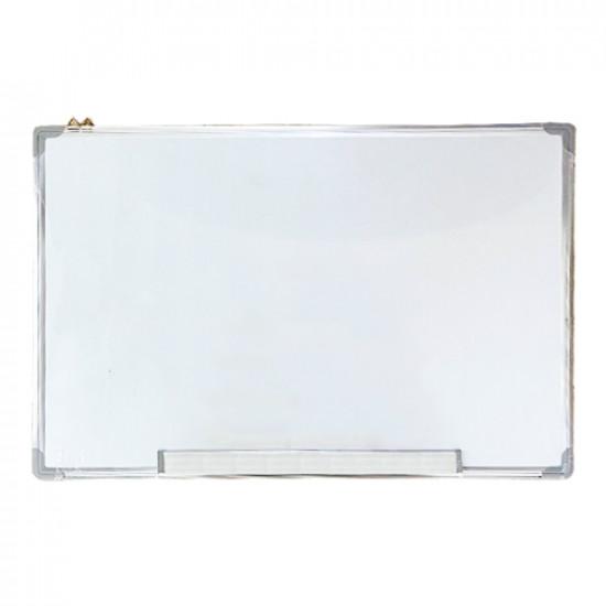 Whit Bored 60x45 cm Aluminum Frame