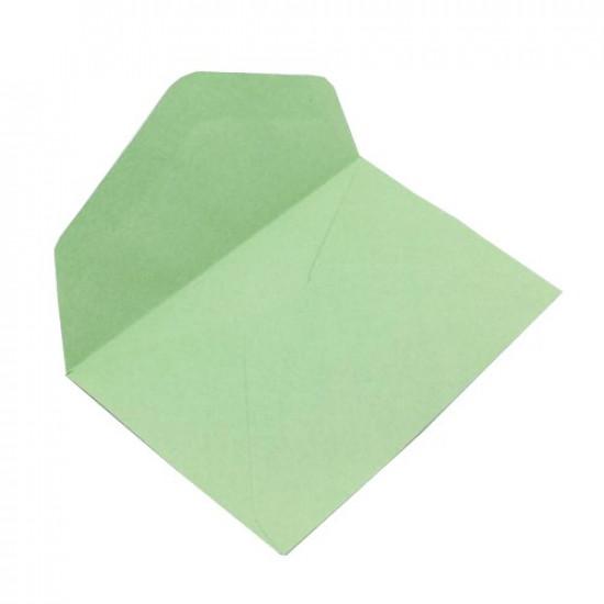 Green Envelopes 7x11 cm 50 Pcs