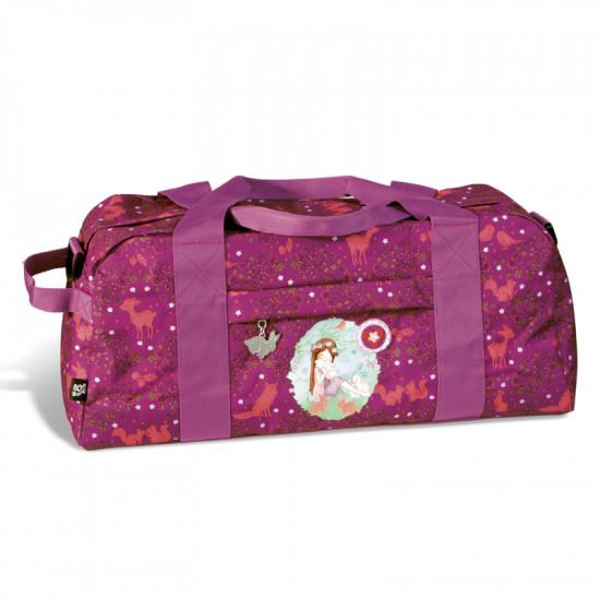Travel Bag 2 Zipper 20x9 inch  Jungle Animals