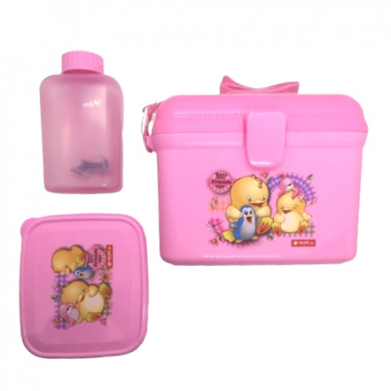 Lunch Box With Water Bottle Lion Star