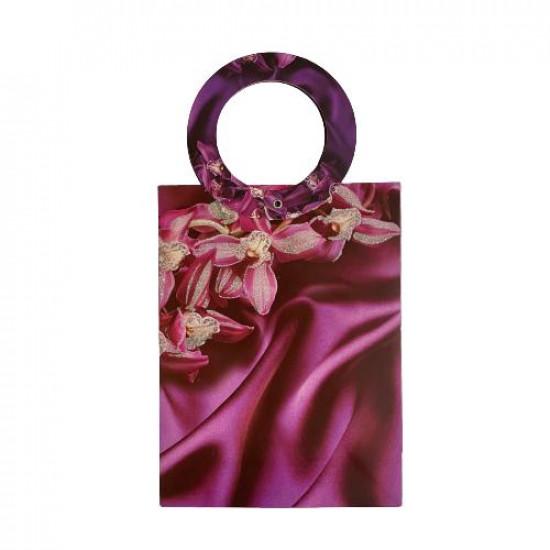 Paper Gift Bag 24x18x8 cm Roses Several Colors