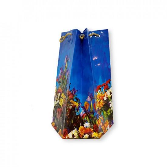 Gift Bag Paper Hexa Medium 23x13x13 cm