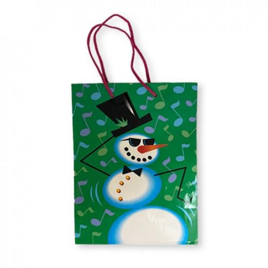 Gift Bag Paper Music 25x19x11 cm
