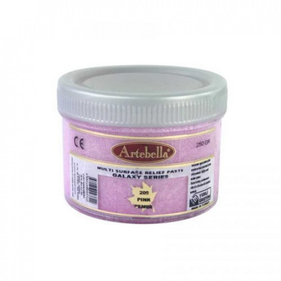 Relıef Paste Sandy (Galaxy) Pink ARTEBELLA 160 cc