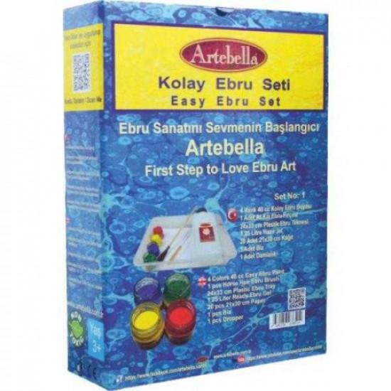 Set of Water Marbling Tools ARTEBELLA
