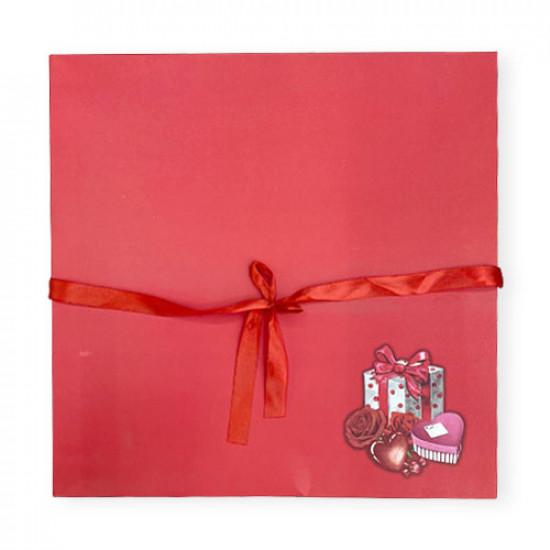 Gift Box Paper 40x40 cm Hearts