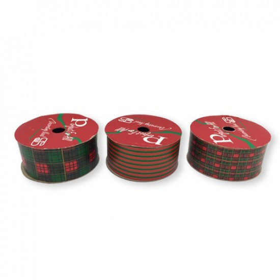 Gift Wrapping Red And Green 5y x38mm