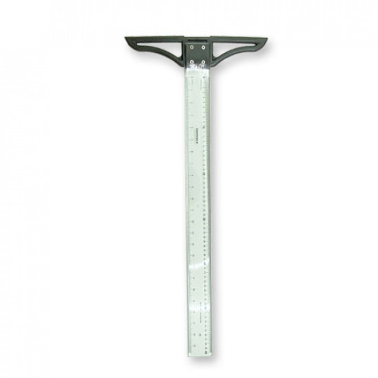 Plastic Hard T Ruler 60 cm With Bag ISOMARS