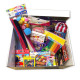 Toys and works box for children