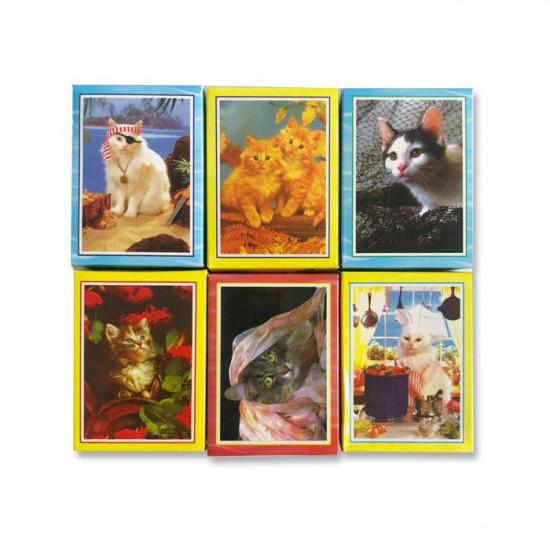 Mini Puzzle Set 6 Boxes Assorted Cats