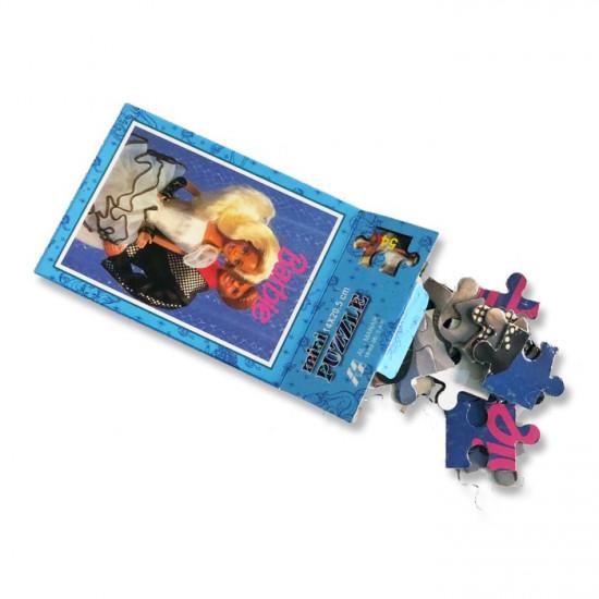 Puzzle Carton 32 Mini Boxes Assorted Barbie
