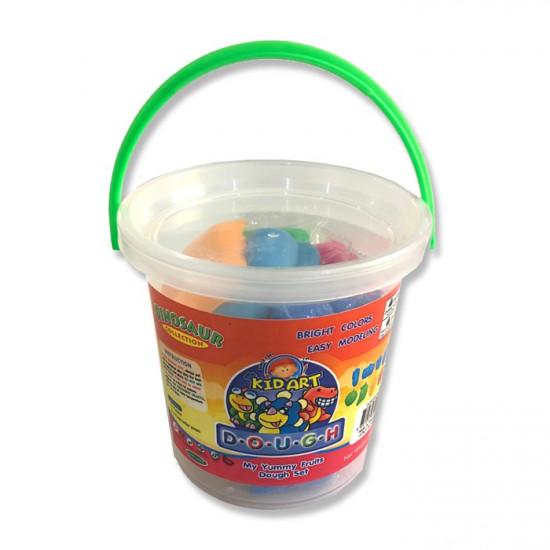 Dough Box 3 Colors with 8 Fruit Molds 200 g