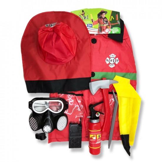 Fireman Educational Clothing For Children