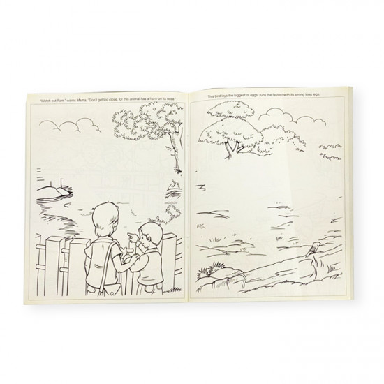 Group Magic Coloring Book with Drawings, Various Shapes