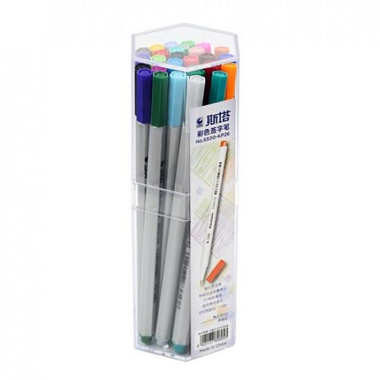 Fineliner Pen STA 26 colors