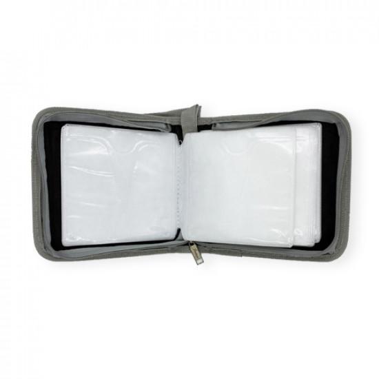 CD Case Zipper Gray 40 CD