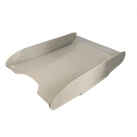 Single Layer Grey Plastic Document Rack METRO