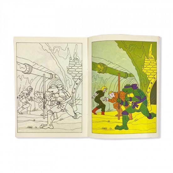Group Coloring Books Ninja Large Size