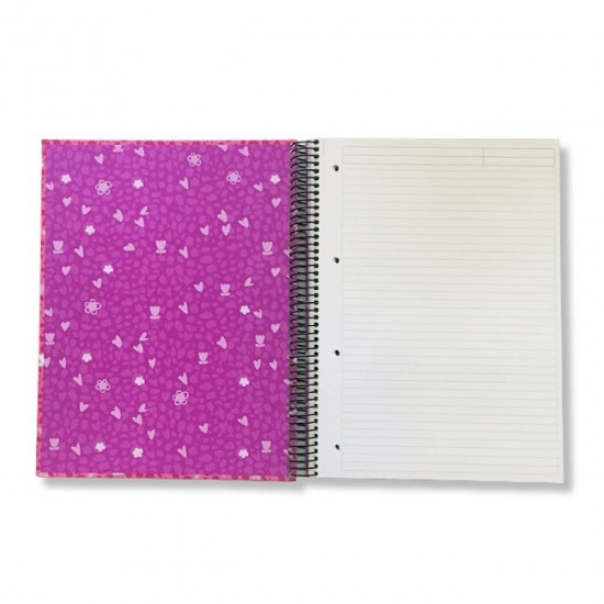 Spiral Notebook Lined BUSQUETS Becool A4 120 Sheets