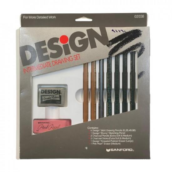 Graphite Pencil Set 7 ceremonies and 2 erasers  SANFORD