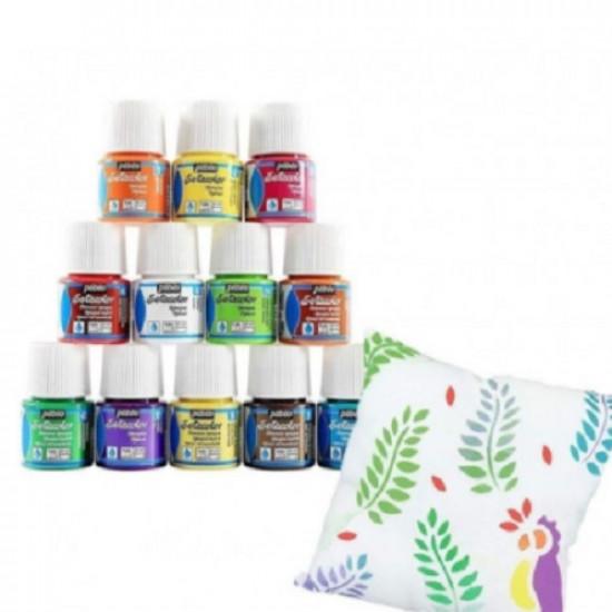 Seta Colors Suede Effect Powder Pink 305 PEBEO 45 ml