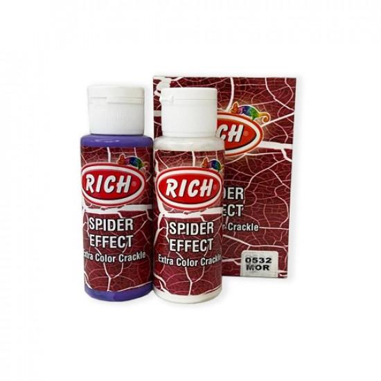 Spider Effect Extra Color Crackle RICH Purple 70cc