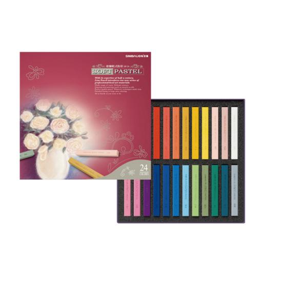 Pastel Color SIMBALION Soft 24 Colors