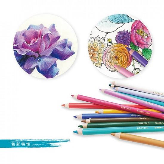 Oil Color Pencil SIMBALION 24 Color